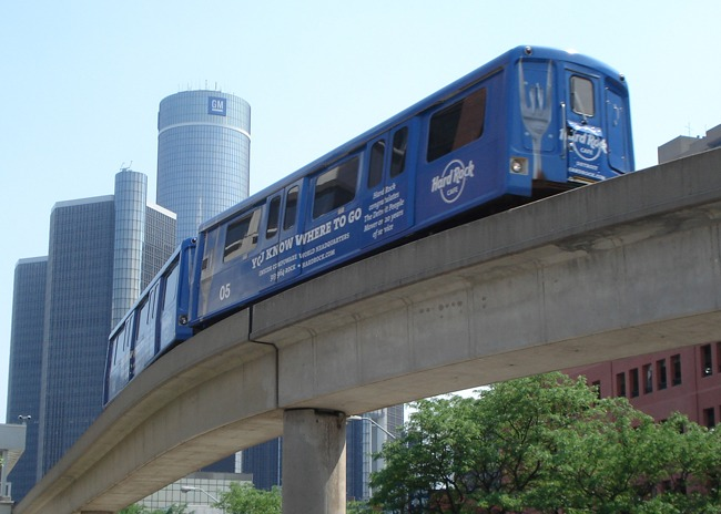 Detroit Downtown People Mover/LRT, Detroit Transportation Commission/UTDC: Provided design, construction management, and system integration testing services for this elevated 3.0 mile, 12 station system, including work on the elevated concrete guideway, trackwork, third rail/power rail system, traction power substations, power distribution substations and switchgear, fully automated driverless moving block train control system hardware and software, systemwide electrical, operations and maintenance building, control center, data center, stations, automated fare collection system/turnstiles, communications systems, SCADA system and software, O&M staffing planning, vehicle maintenance software system, and Kingston, Ontario test track system evaluation/testing.